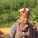 Fata Clarafilla presenta ai bambini un piccolo amico dell'orto
