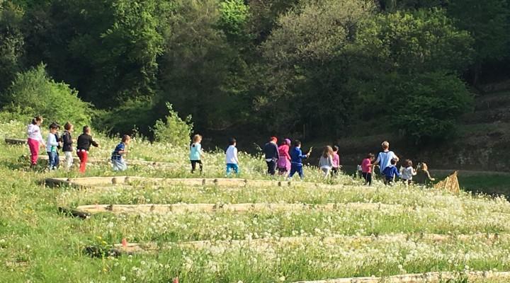 I bambini incontrano le fate della Valle della Biodiversità